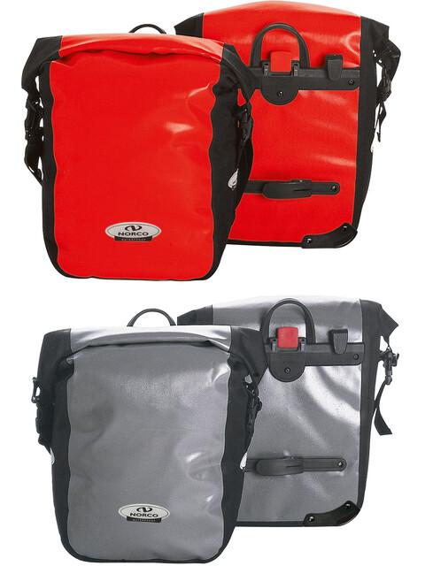 Norco Columbia Cykeltaske grå/rød